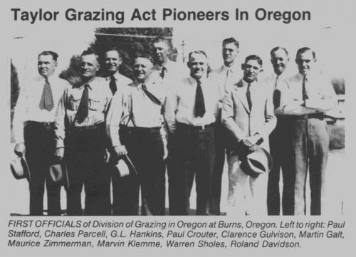 Taylor Grazing Act Pioneers